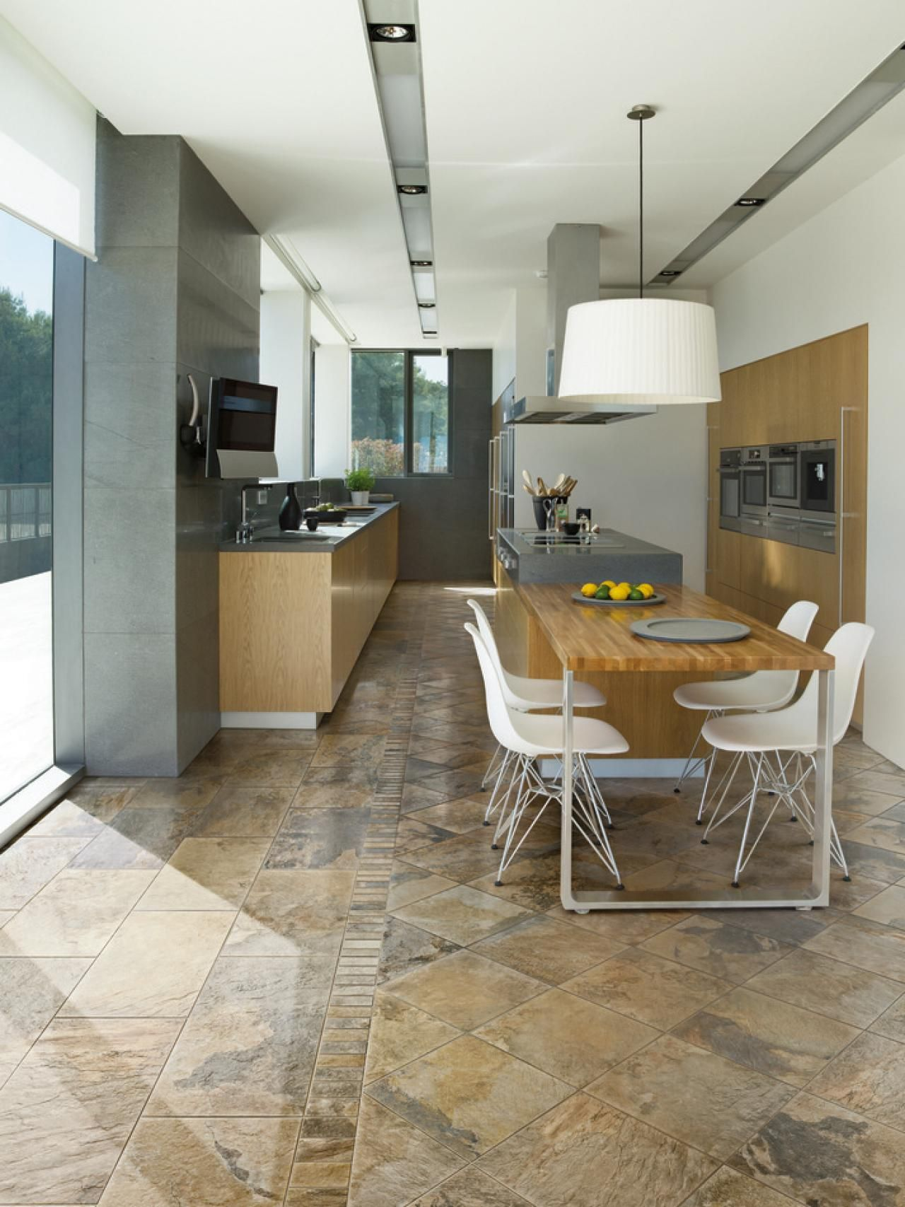 Kitchen Design And Tiles 18 Beautiful Examples Of Kitchen Floor Tile