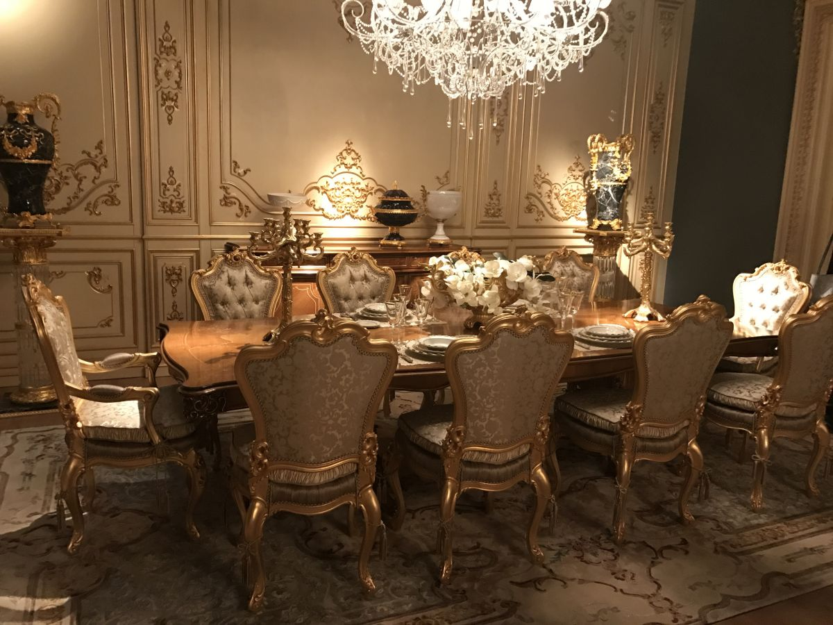 Luxury Dining Room Decor 10 Luxury Dining Rooms With Inspiring Baroque Style