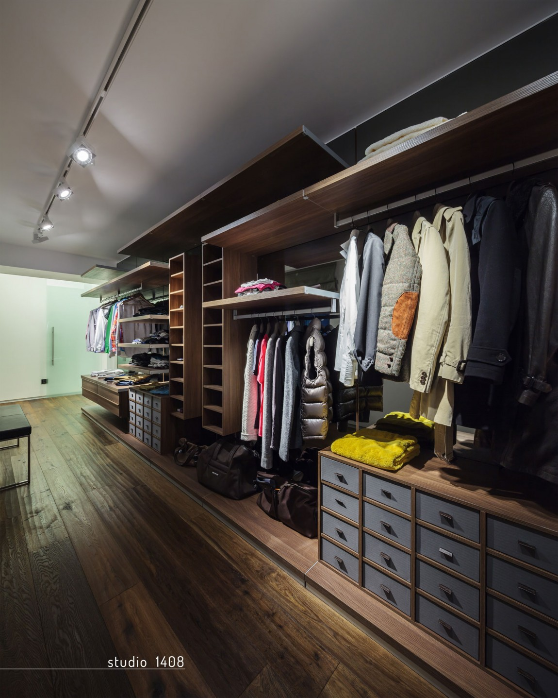 Industrial Wardrobes Stylish Walk In Closet Ideas From Inspired Designers