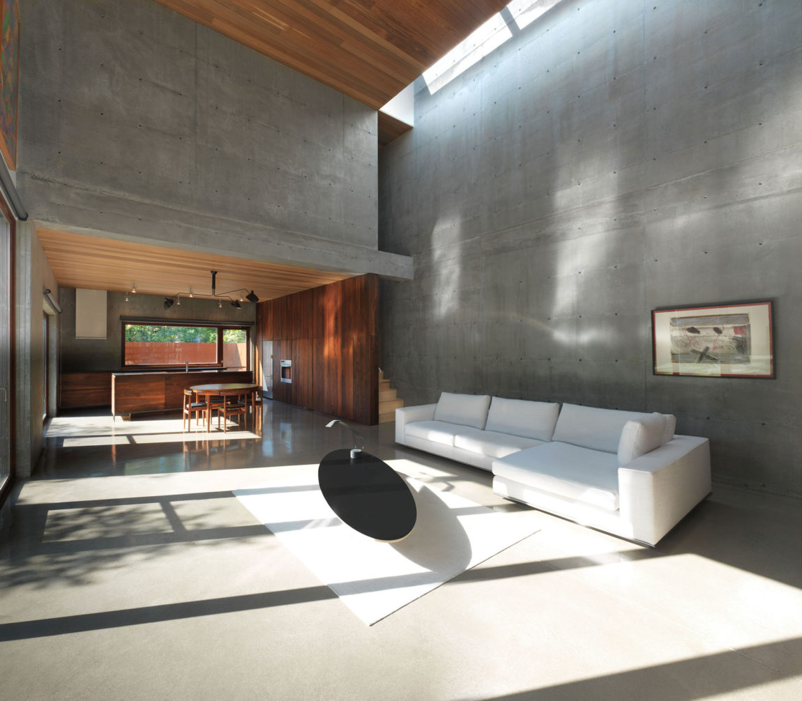 Concrete Rooms 16 Times When Concrete Floors Made Living Rooms Look Stunning