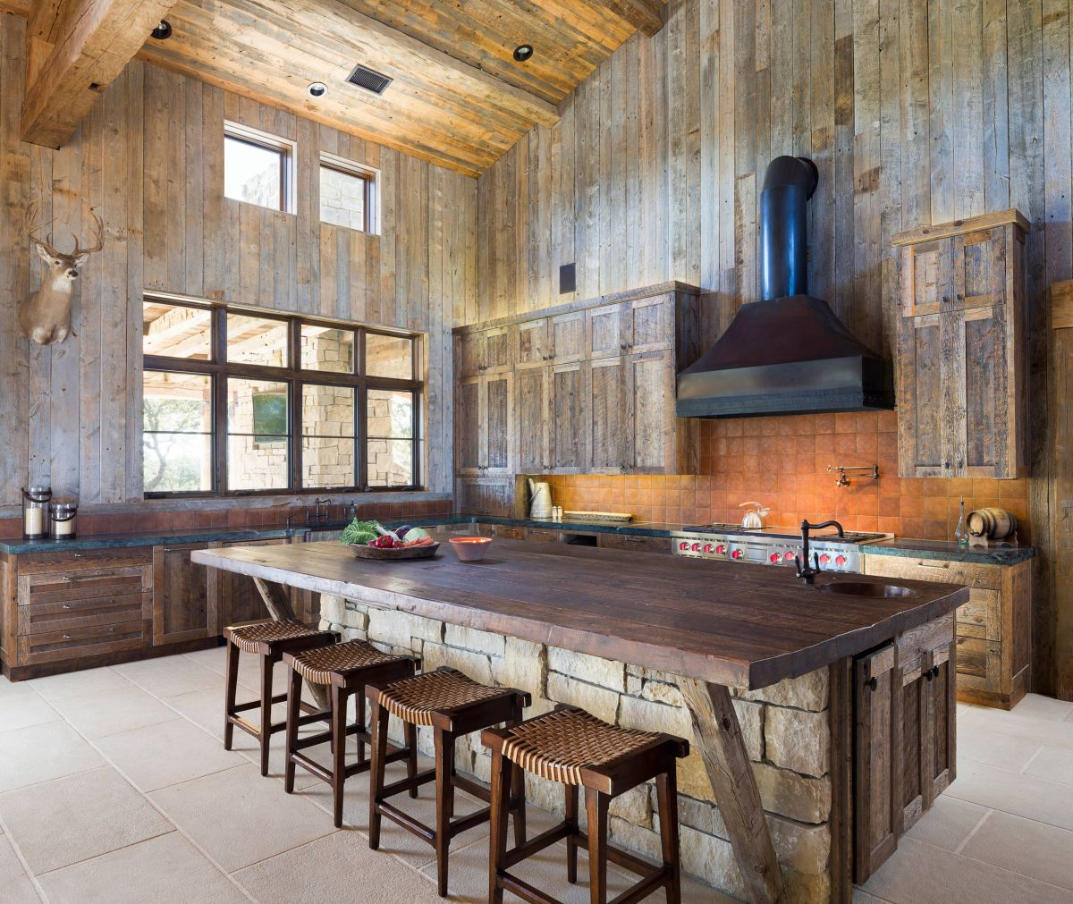 Wood Kitchen Island Plans 15 Rustic Kitchen Islands Perfect For Any Kitchen