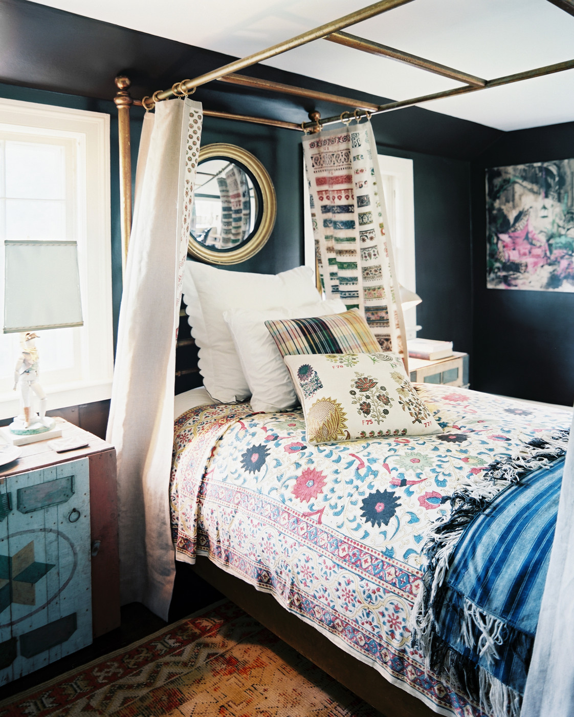 Chic Bedroom Decorating Ideas 40 Bohemian Bedrooms To Fashion Your Eclectic Tastes After
