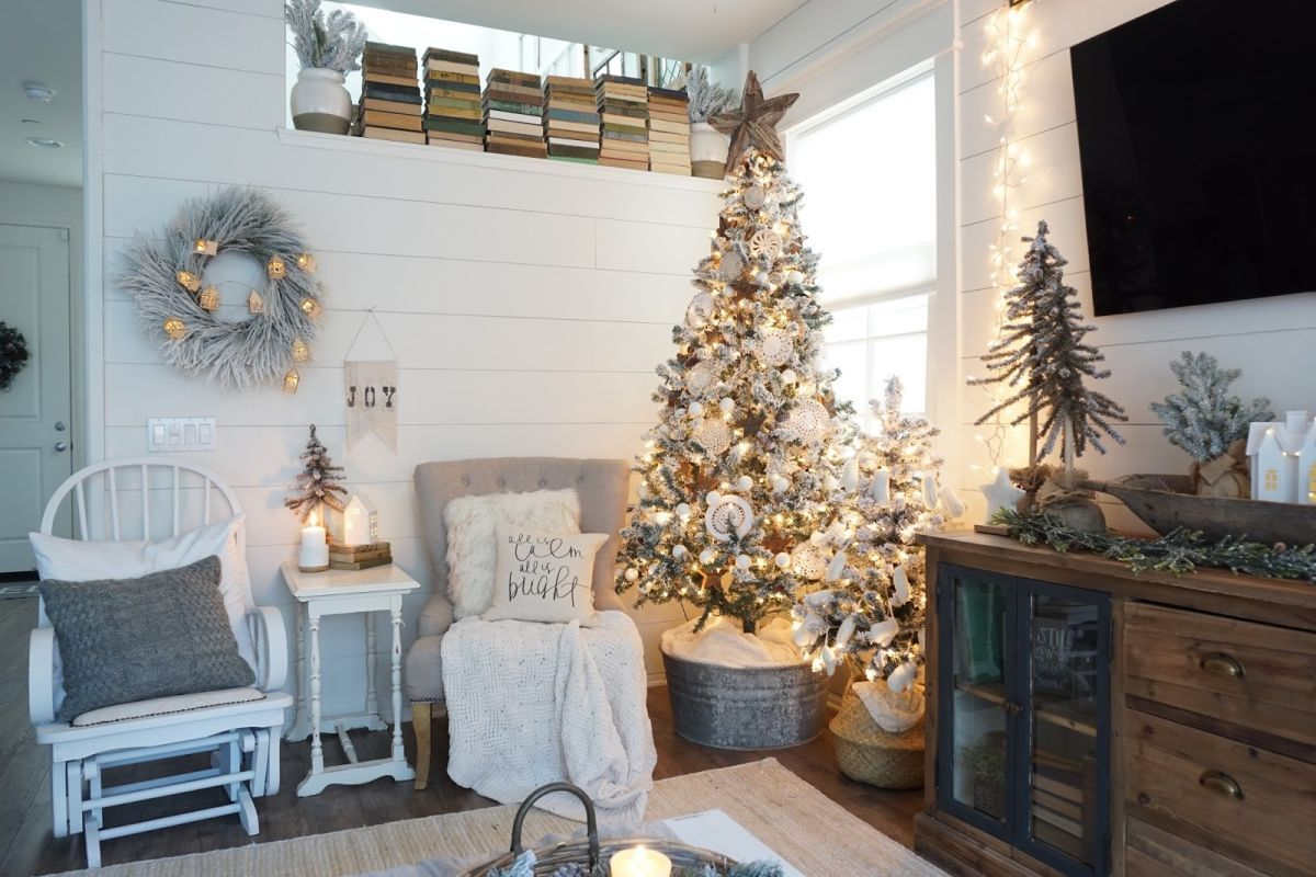 Christmas Interior Design An Inspirational Guide To Farmhouse Christmas Decor