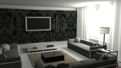 12 Backdrops to Make Your Mounted TV More Interesting