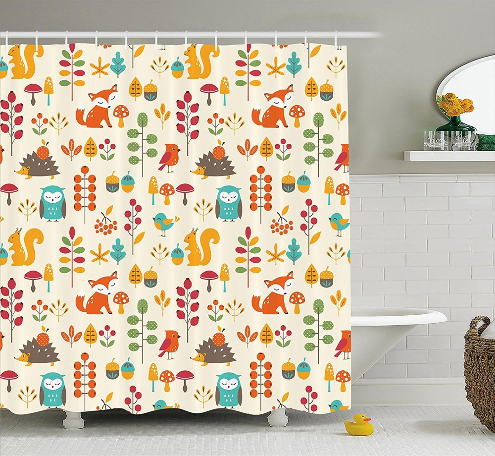 Cute Girly Shower Curtains 30 Kids Shower Curtains With Cute Funny And Colorful Designs