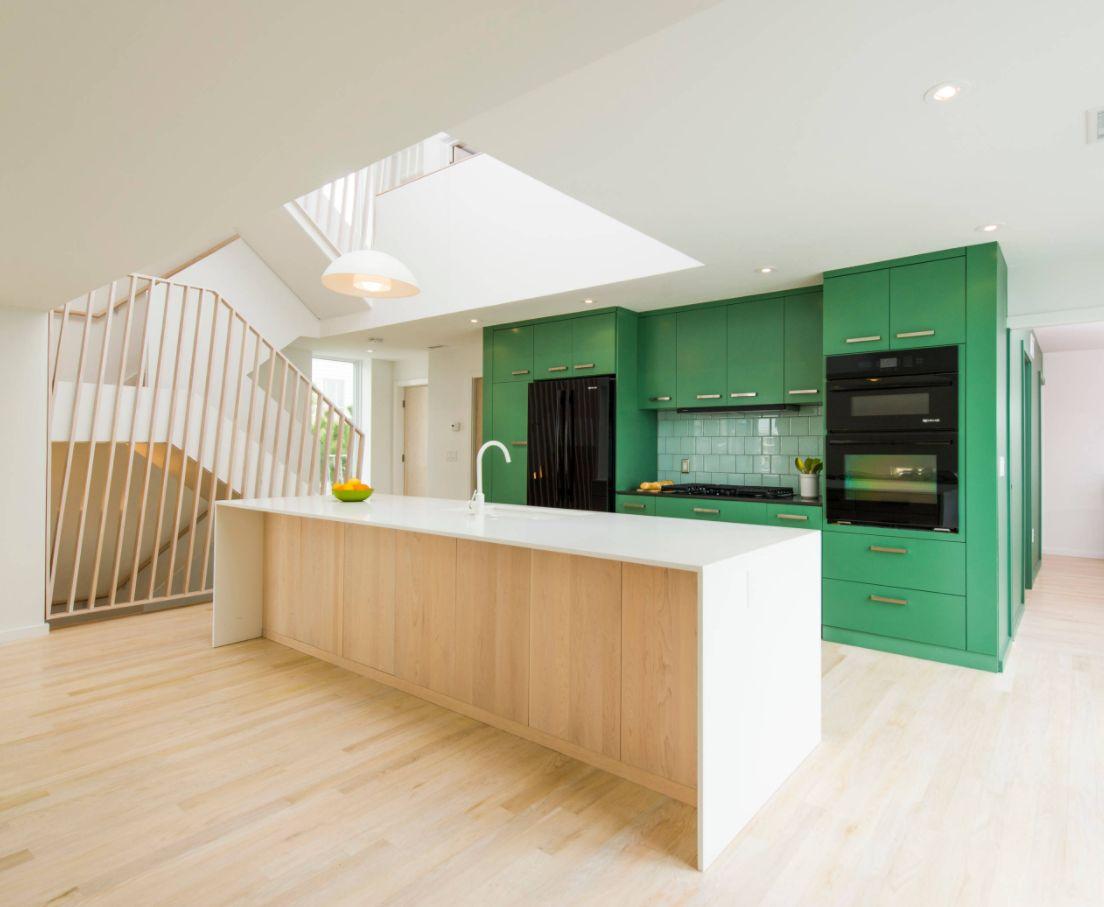 Jade Green Kitchen Cabinets Kitchen Island Design Ideas Pictures