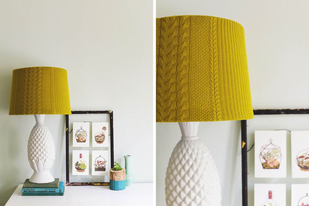 Diy Lampshade Cover Diy Lampshade Ideas The Best And The Brightest