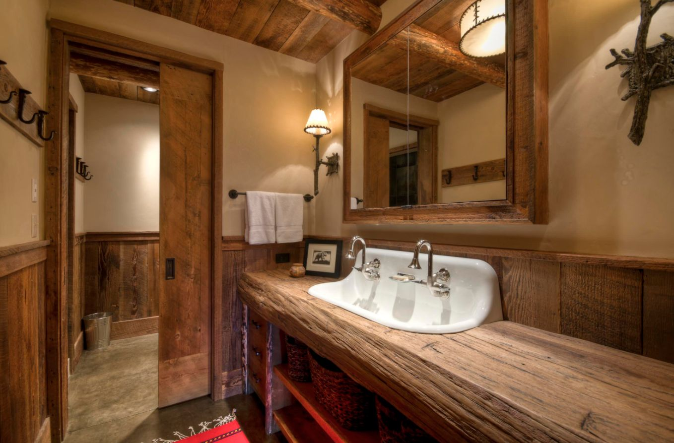 Holz Bad Rustic Bathroom Ideas Inspired By Nature's Beauty