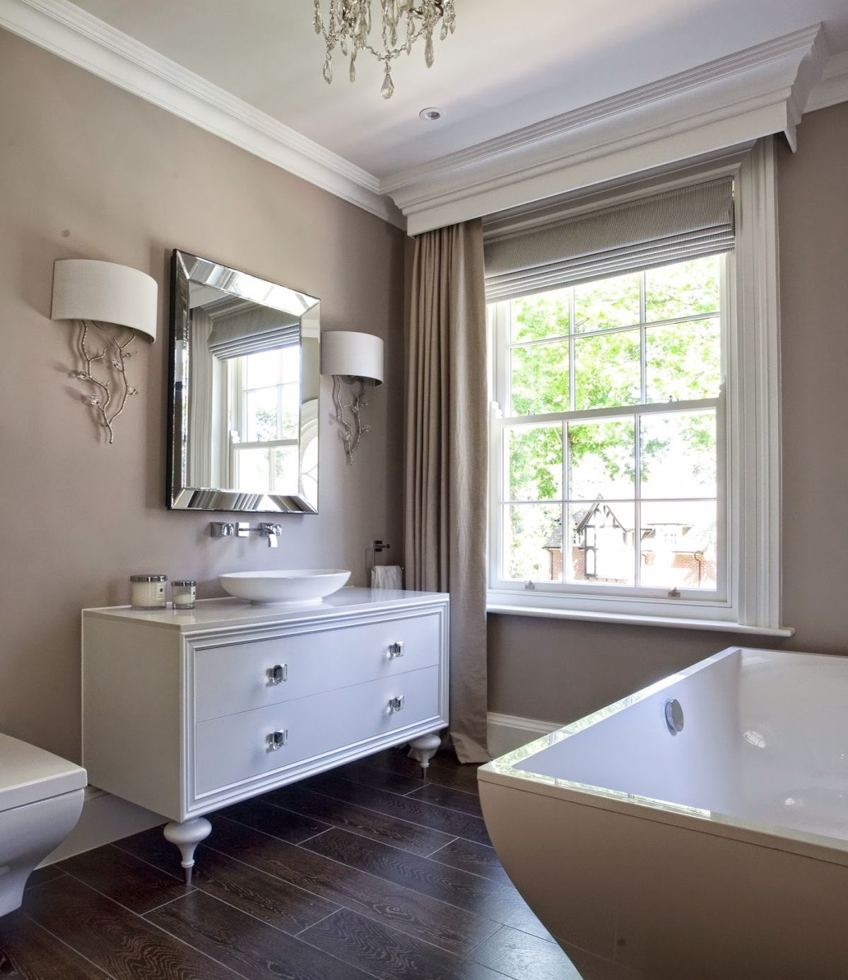 Bunnings Bath Paint Creating A Stylish Taupe Bathroom Decor