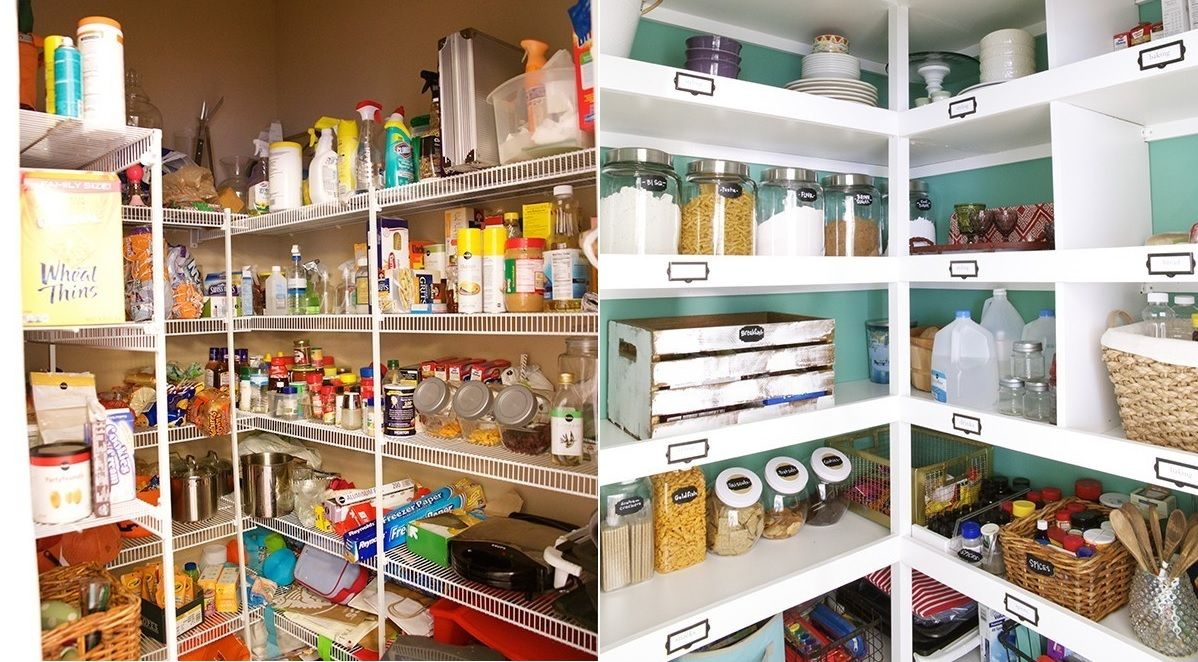 Pantry Shelves How To Organize Your Kitchen Pantry For Maximum Storage Efficiency