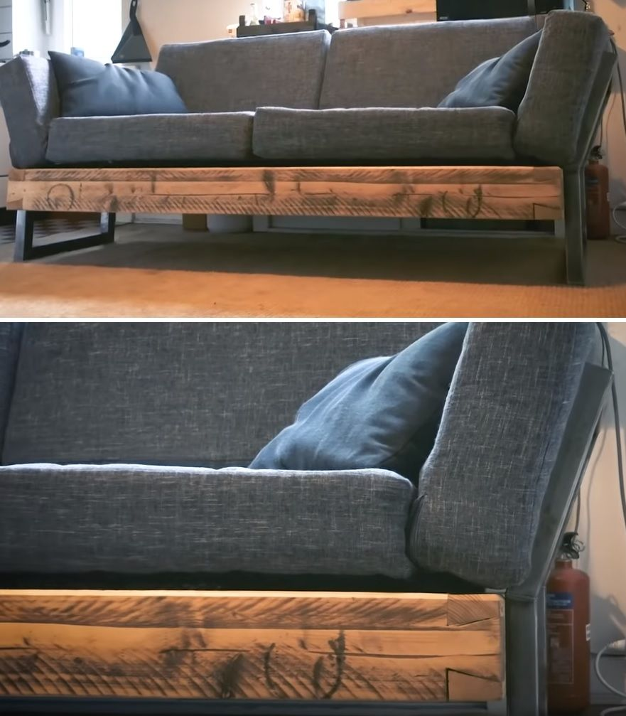 Tv Bank Diy 10 Easy Ways To Build A Diy Couch Without Breaking The Bank