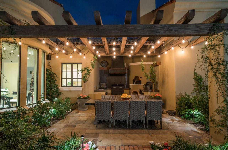 Eclairage Exterieur Terrasse Couverte | Rideau Pour Terrasse ...