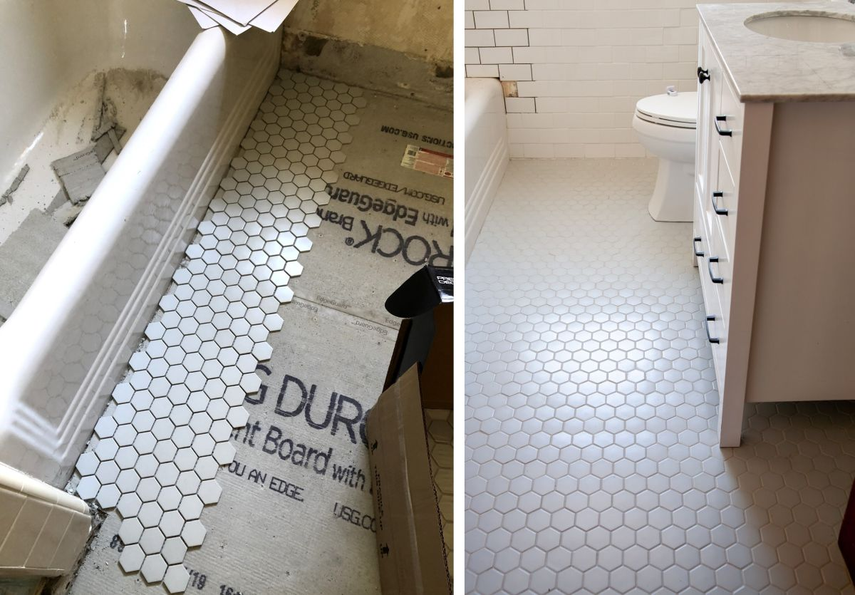 How To Update Your Bathroom Floor Tiles 6 Diy Ideas