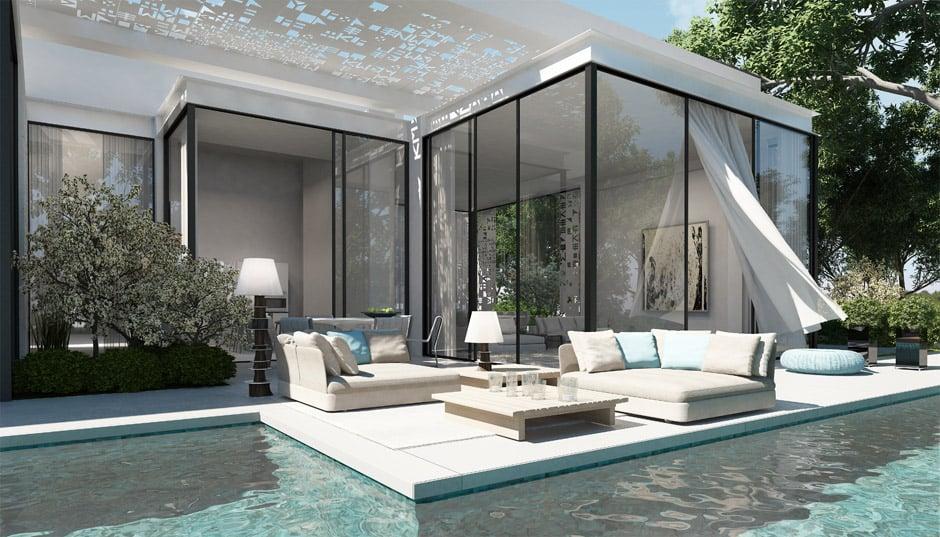 Beautiful Luxury House Design by Ando Studio - luxury home design