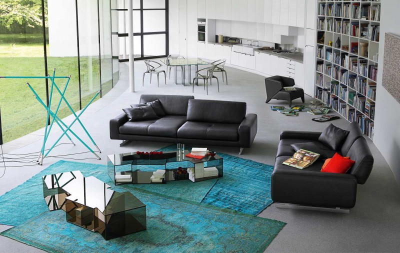 Vintage Ledercouch Living Room Inspiration: 120 Modern Sofas By Roche Bobois