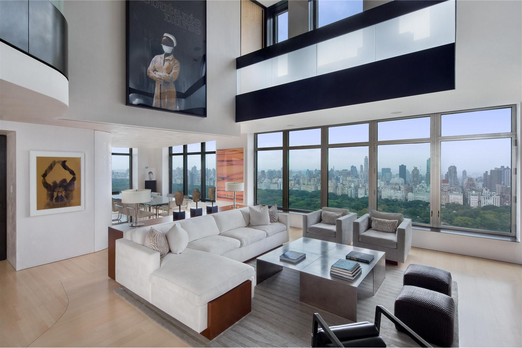 Two Floor Apartment Nyc Exclusive Duplex Penthouse In Manhattan