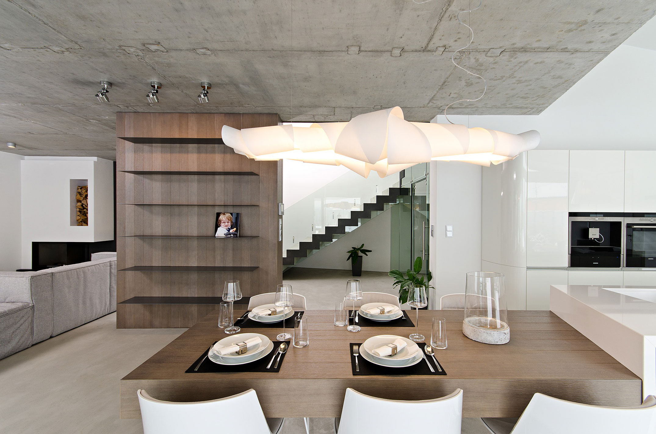 Concrete House Interior Concrete Interior By Oooox