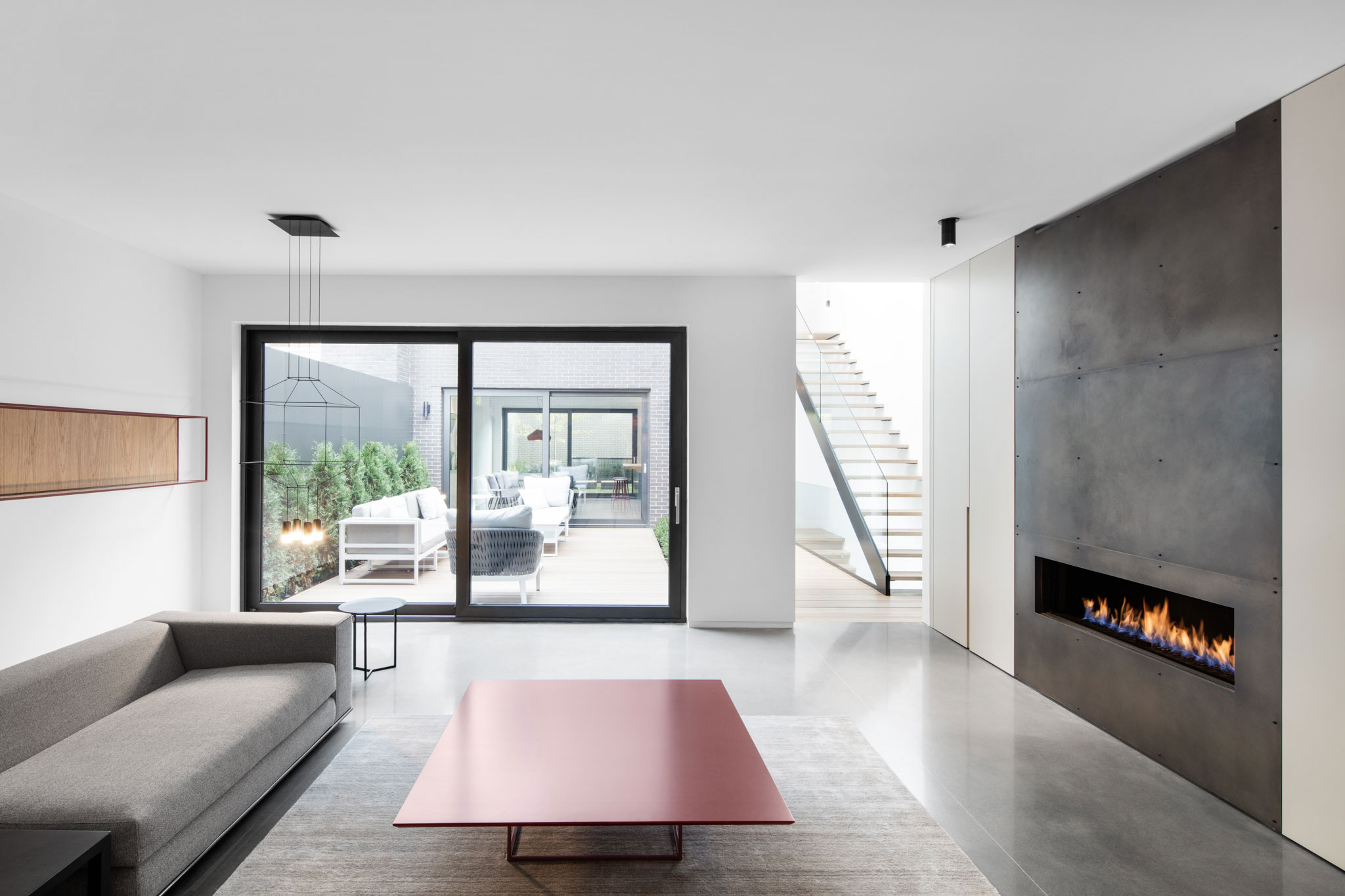 Contemporary Furniture Montreal Manon Bélanger Designs A Minimalist Contemporary Home In