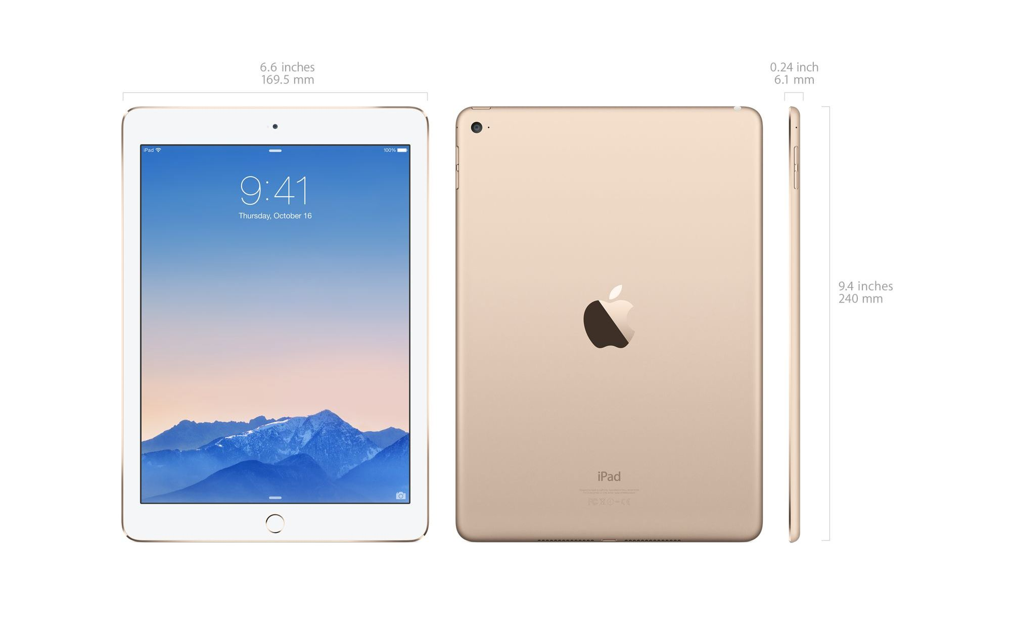 Iphone Misure Apple Ipad Air 2 16gb Wifi Gold Price In Pakistan
