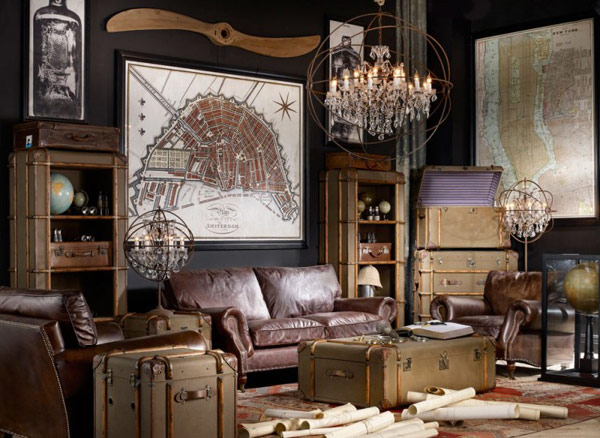 20 Inventive And Inspiring Eclectic Vintage Interior - Retro Zimmer