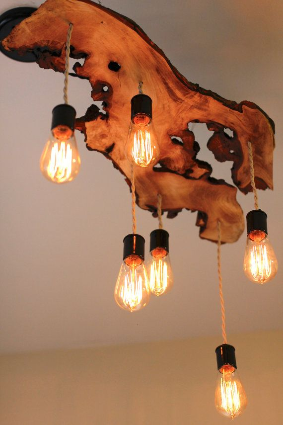 Edison Lampen 25 Beautiful Diy Wood Lamps And Chandeliers That Will