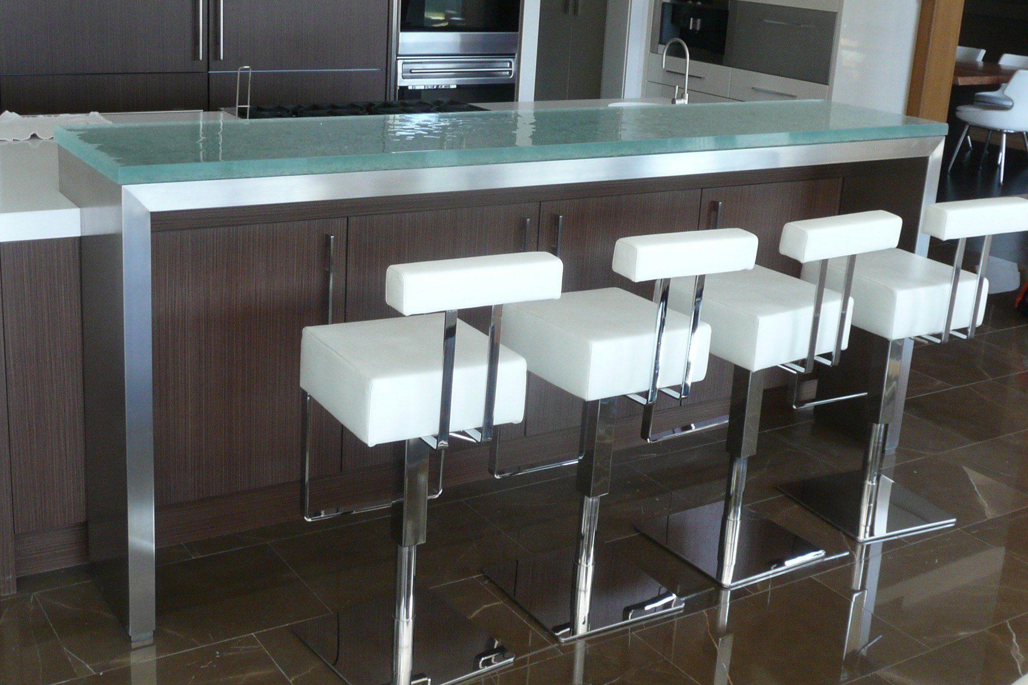 Kitchen Island Ideas With Bar The Ultimate Luxury Touch For Your Kitchen Decor - Glass