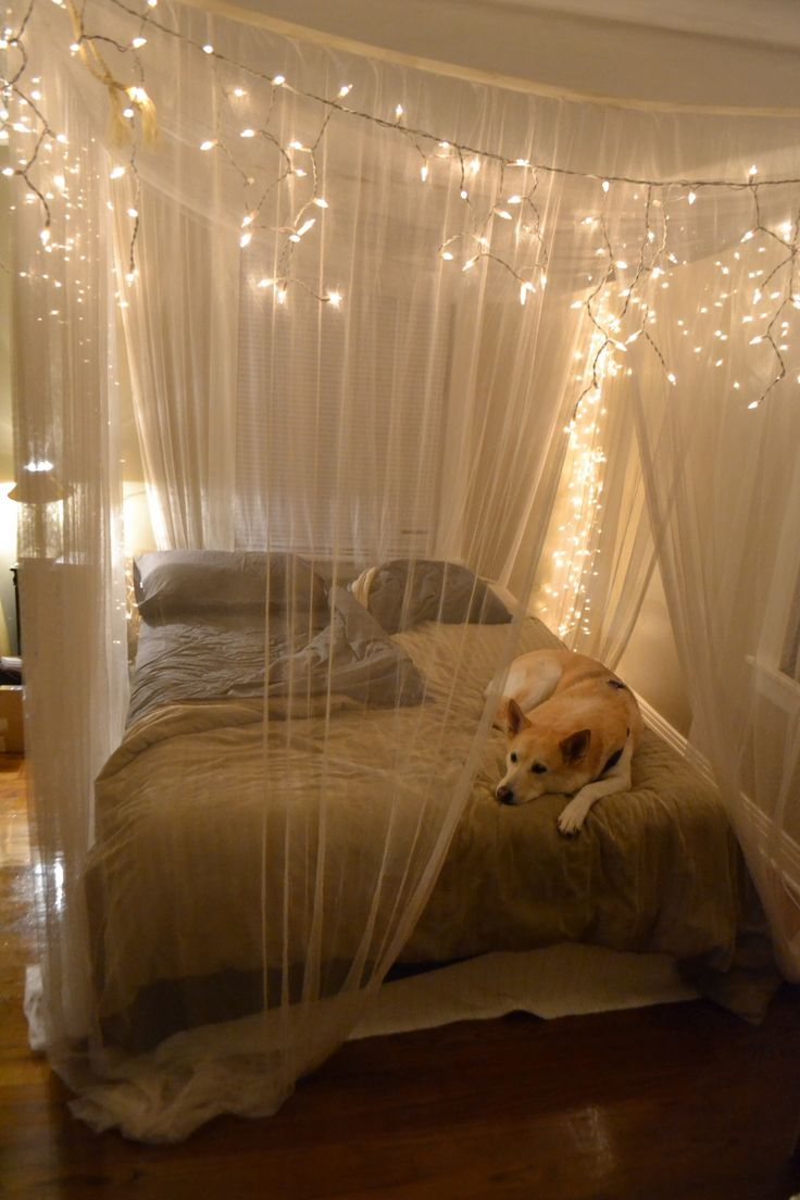 Schlafzimmer Bett Vorhang 23 Mesmerizing Starry String Light Projects For A Magical