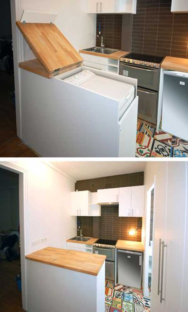 24 Extremely Creative and Clever Space Saving Ideas That Will - space saving ideas for small homes