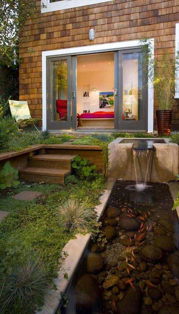 Houzz Om 21+ Small Garden Backyard Aquariums Ideas That Will