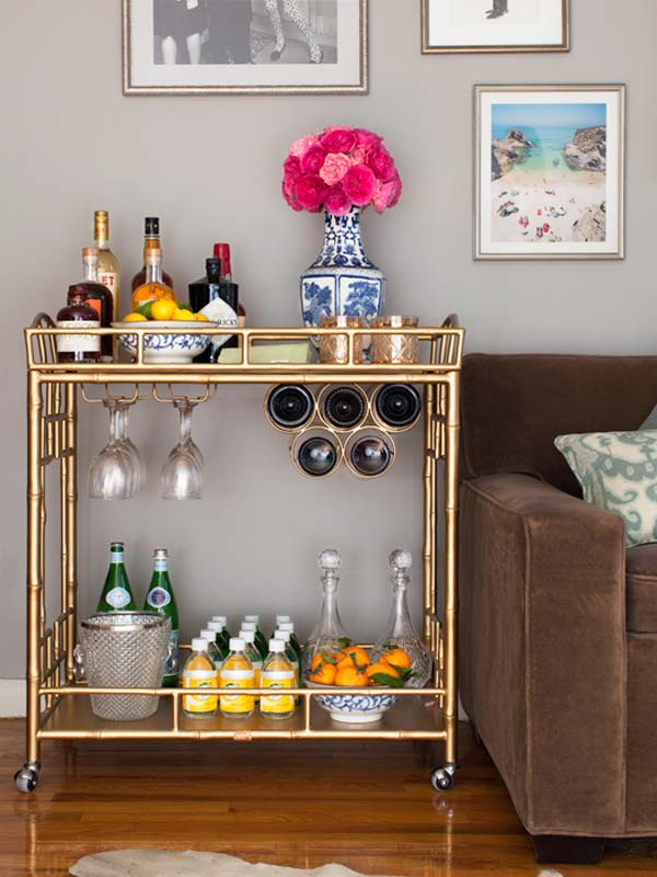 16 Small DIY Home Bar Ideas That Will Enhance Your Parties - home mini bar ideas