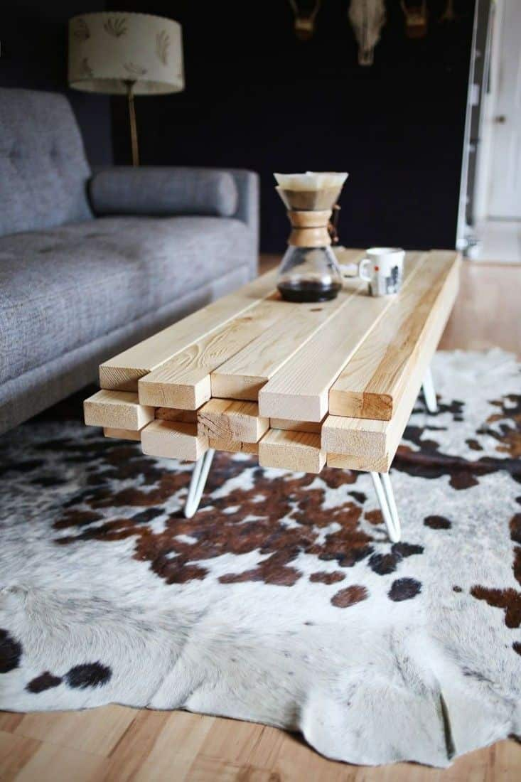 Unique Coffee Table Decor 15 Beautiful Cheap Diy Coffee Table Ideas
