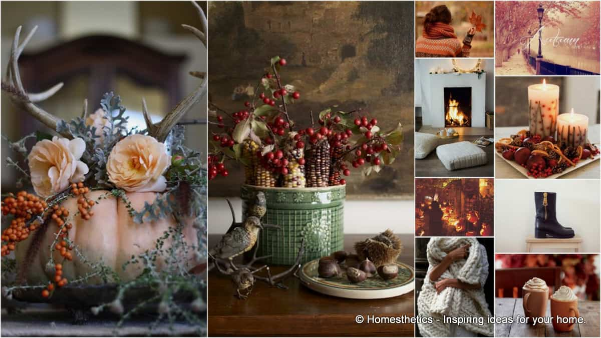 Cozy Fall Wallpaper Greet Autumn With Cozy Scented Warm Home Decor Ideas