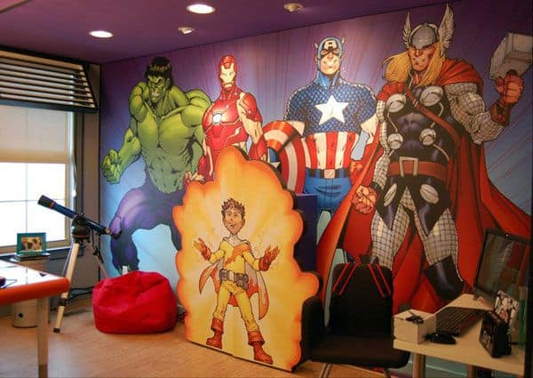 3d Wallpaper For Kid Bedroom 34 Amazing Wall Art Ideas You Can Do Yourself To Bring A
