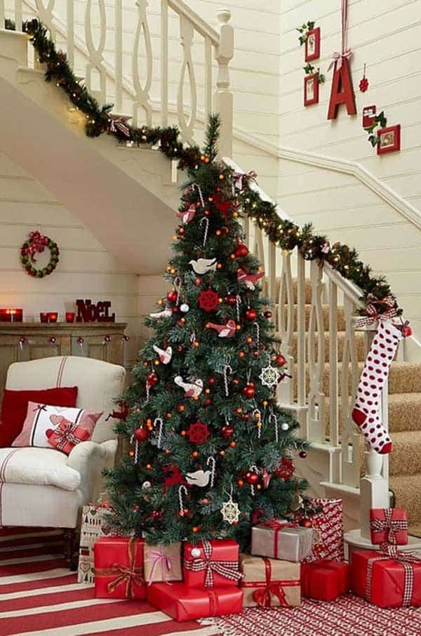 ready dressed christmas trees - Rainforest Islands Ferry - beautiful decorated christmas trees