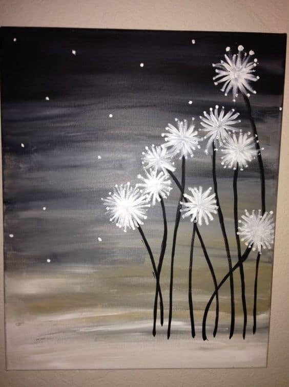 19 Easy Canvas Painting Ideas To Take On - Homesthetics - Inspiring