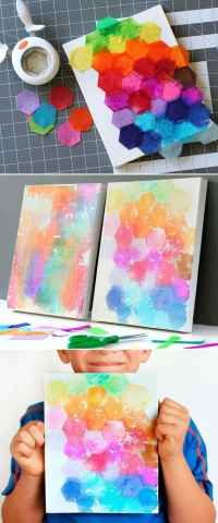 19 Fun And Easy Painting Ideas For Kids - Homesthetics ...