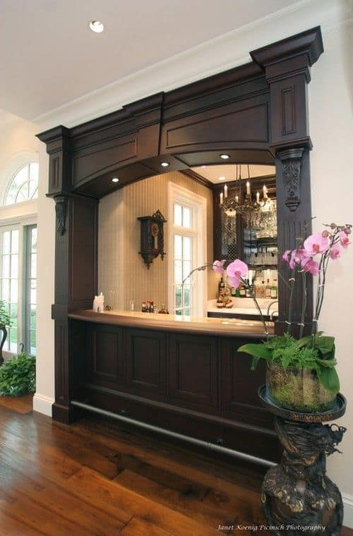 52 Splendid Home Bar Ideas to Match Your Entertaining Style - living room bar furniture