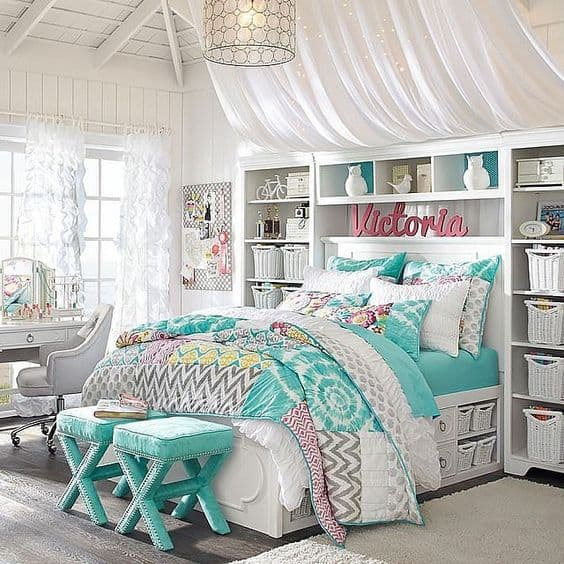 Cool Beds For Tweens 18 Teenage Bedroom Ideas Suitable For Every Girl