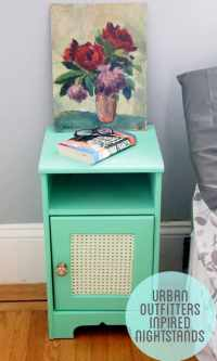 33 Simply Brilliant Cheap DIY Nightstand Ideas ...