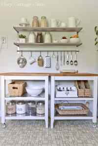 Emphasize Small Spaces With Kitchen Wall Storage Ideas ...
