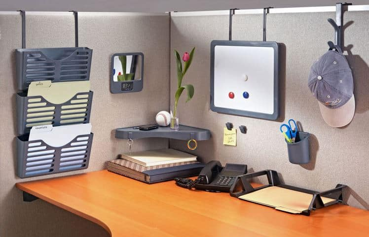 Shape A Positive Work Space With Diy Cubicle Organization