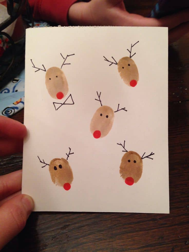 Weihnachtsbasteln Mit Kindern Make Your Own Creative Diy Christmas Cards This Winter