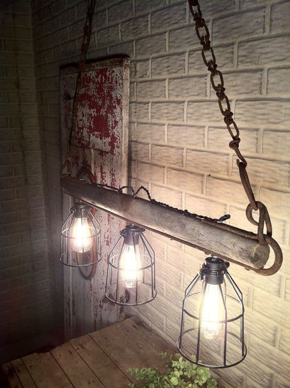 Hanging Edison Lights 23 Shattering Beautiful Diy Rustic Lighting Fixtures To