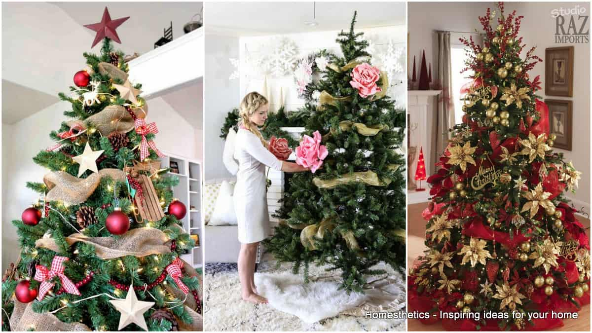 top tips for christmas tree decorating acta - Christmas Tree Decorating Ideas Red And Silver