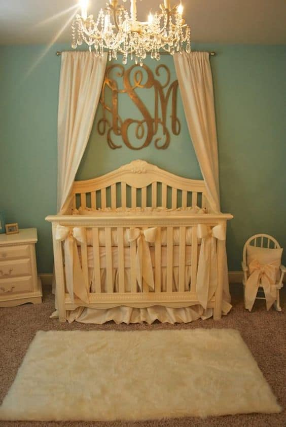 Wallpaper Ideas For Baby Girl Nursery 18 Crib Canopies Perfect For Your Nursery Design
