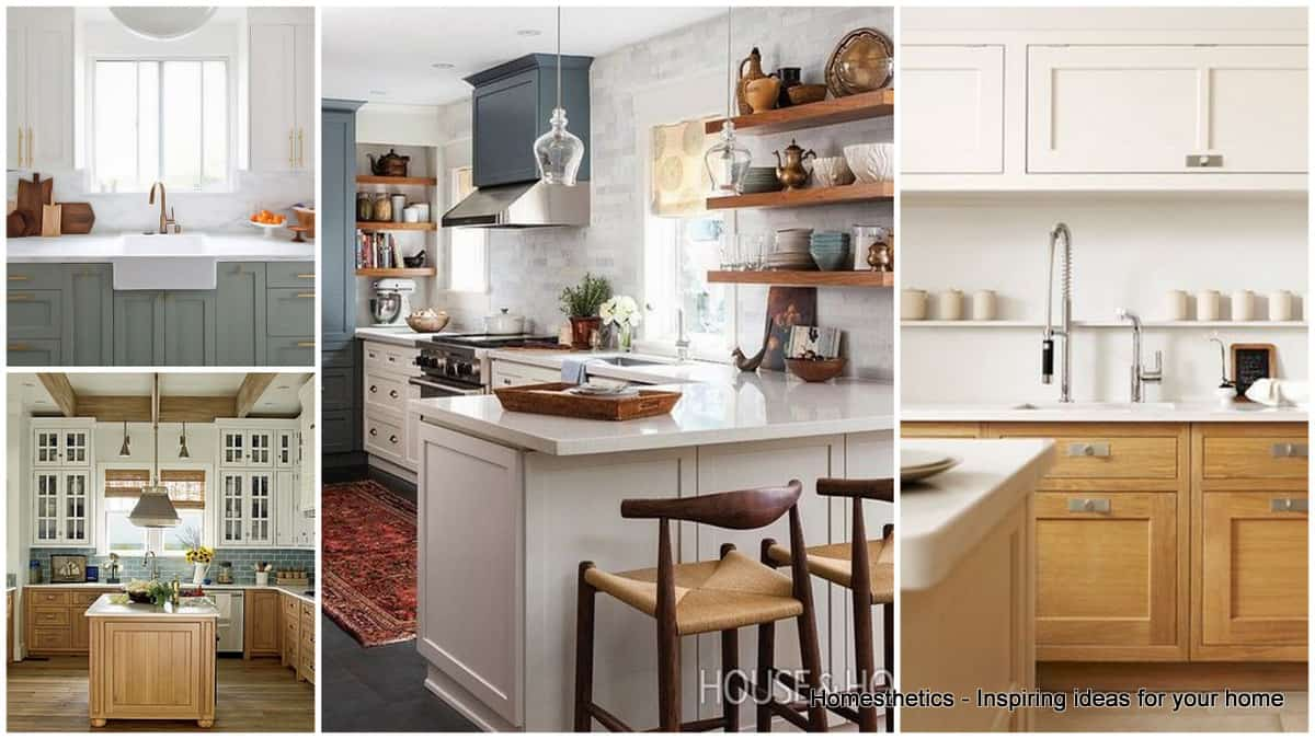 30 gorgeous kitchen cabinets for an elegant interior decor part 2 glass cabinets two toned kitchen cabinets Revamp Your Kitchen with These Gorgeous Two Tone Kitchen Cabinets