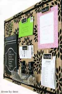 22 Exceptional DIY Bulletin Board Ideas to Revamp Your ...