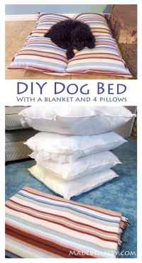 29 Epic DIY Dog Bed Ideas For Your Furry Friend ...
