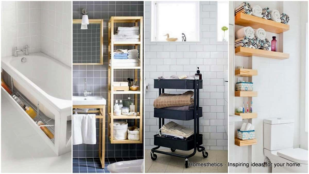 20 Smart Bathroom Storage Ideas That Will Impress You Homesthetics Inspiring Ideas For Your Home