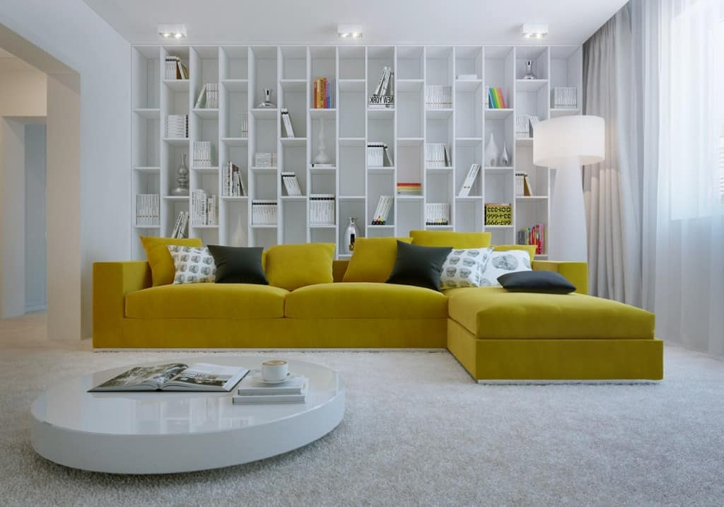 2er Sofa Simple Inspiration On How To Style Around A Yellow Sofa